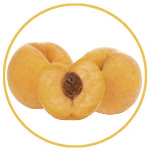 Fruta de hueso, melocotón