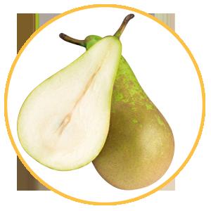 Fruta de hueso, pera
